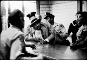 POYi exhibit: Dr. Martin Luther King Jr. arrested. Photo by Charles Moore, 1958
