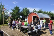 At the Southern Boone Learning Garden, students participate in hands-on lessons that connect food, health and the environment.