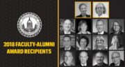 The 2018 Faculty-Alumni Awards recognize the achievements of faculty and alumni. Faculty are considered for their work as teachers, administrators and researchers. Alumni are considered for their professional accomplishments and service to Mizzou.
