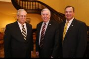 David Russell, Governor Parson and Lt. Governor Kehoe