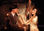 Jon Hamm and Kami Rodgers in the 1992 production of Cabaret by MU's summer repertory theater company.