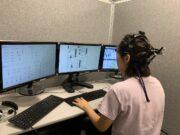 Studying eye movement