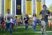5,459 freshmen are beginning classes at the University of Missouri, a 16% increase over last year.