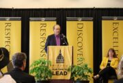 MU Alumnus Jim Pace announced a $1.5 million gift to improve business practices at the University of Missouri.